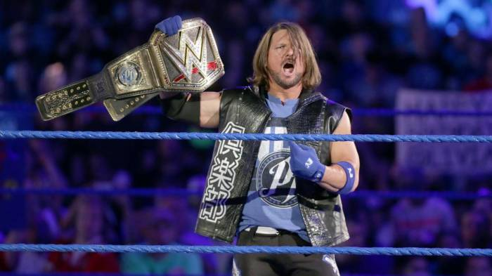 "AJ Styles ""sparito"" dalla Royal Rumble: la rabbia social dei fan"