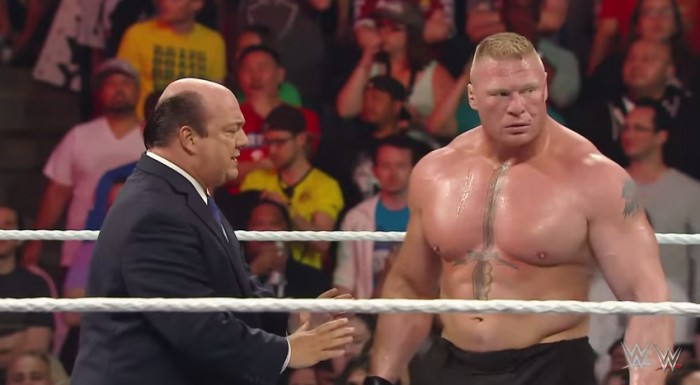 Perche' Brock Lesnar lavorera' in un house show?