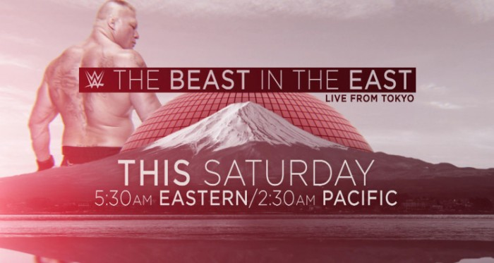 RISULTATI WWE LIVE: BEAST IN THE EAST