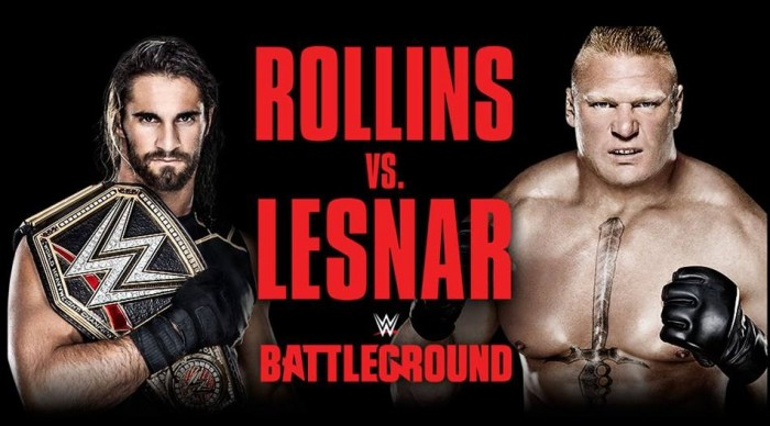 WWE Battleground risultati del PPV *SPOILER*
