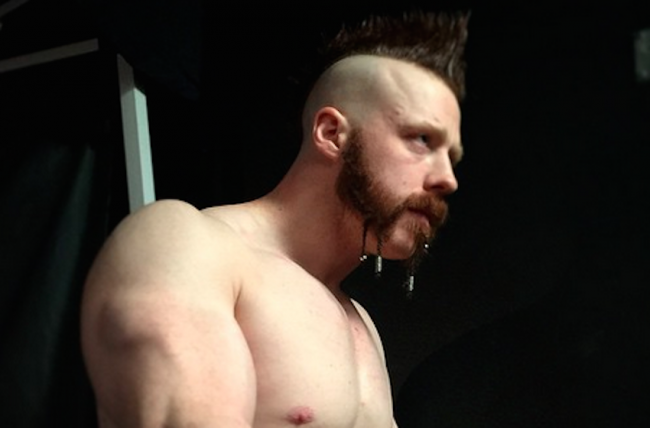 Infortunio al braccio per Sheamus