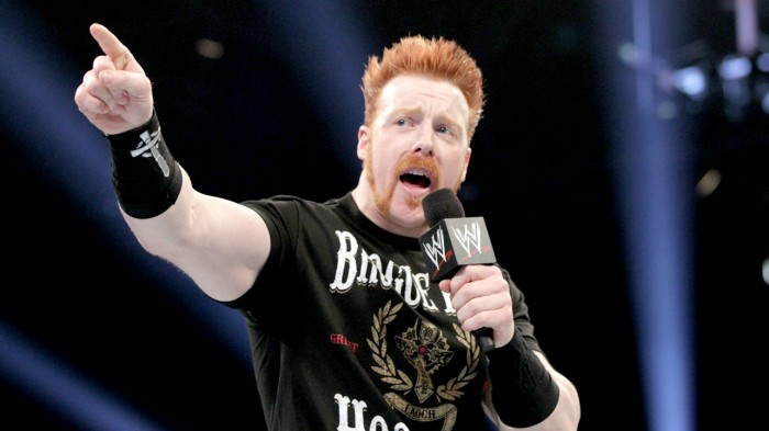 Sheamus si e' infortunato?