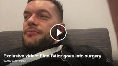 (VIDEO) Finn Balor, prime parole dopo l'operazione