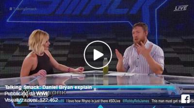 (VIDEO) Incredibile: Daniel Bryan da' ragione a The Miz