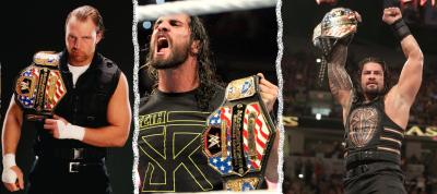 Ambrose, Rollins, Reigns: carriere sempre piu' in parallelo