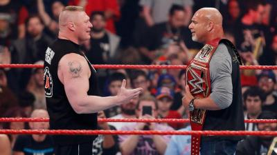 Goldberg vs Brock Lesnar: la WWE studia un'incredibile sorpresa