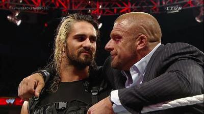 "Seth Rollins: ""Uno dell'Authority mi ha salvato la carriera"". E non e' Triple H"