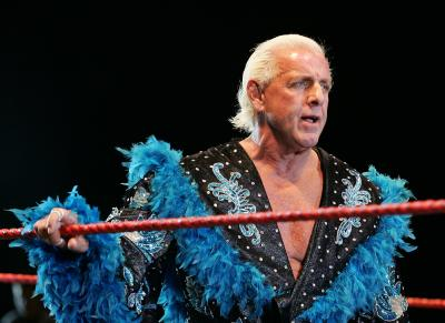 Ric Flair si infortuna in tour