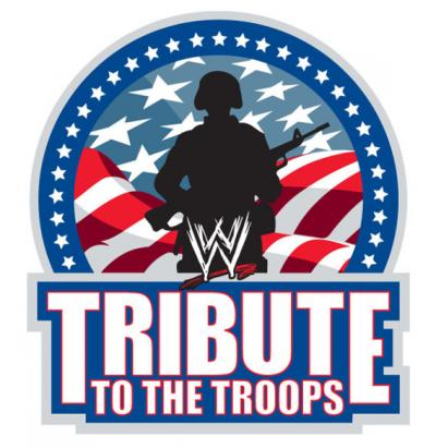 La Security confisca un cartellone per Jericho al Tribute to the Troops