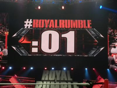 Grandi piani per il Royal Rumble match del 2017