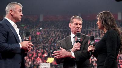 Vince McMahon scontento di una novita' a Raw