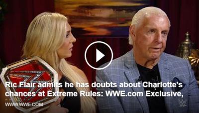 (VIDEO) Incredibile: ecco cosa pensa davvero Ric Flair della figlia Charlotte