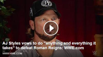 (VIDEO) AJ Styles spiega perche' si fida del Club