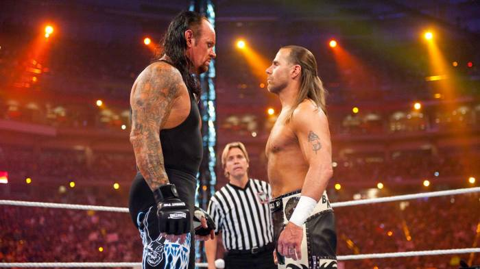 Annunciate le prossime apparizioni in WWE di The Undertaker e Shawn Michaels