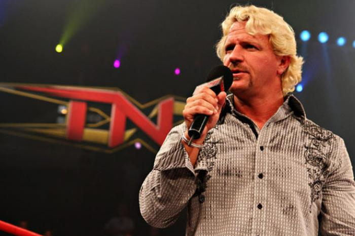 Jeff Jarrett nella WWE Hall of Fame 2018