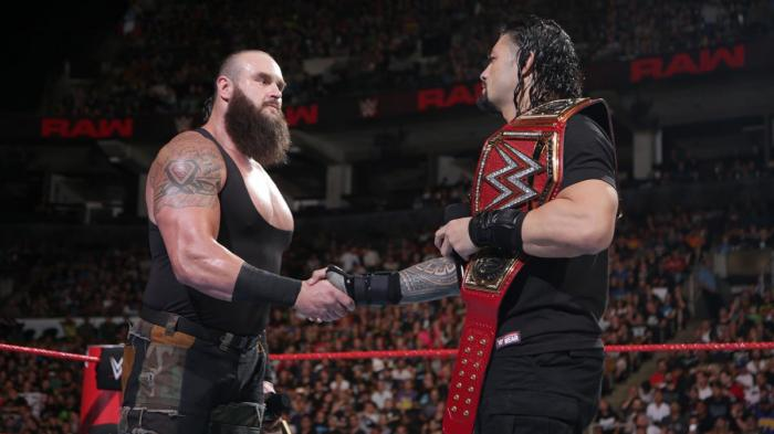 Roman Reigns vs Braun Strowman: ironia social sul poster di Hell in a Cell