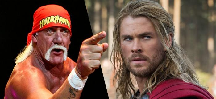 Thor diventa Hulk Hogan: Chris Hemsworth porta la WWE al cinema