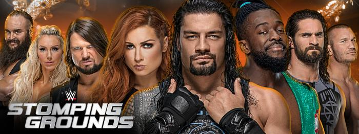 WWE Stomping Grounds: annunciato il primo match