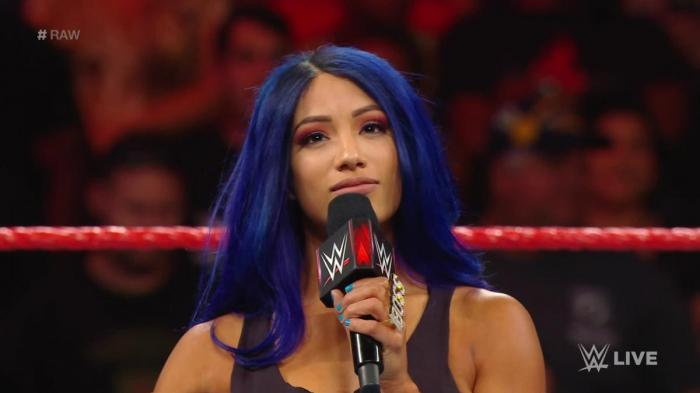 Bank Statement – Grazie Sasha Banks!