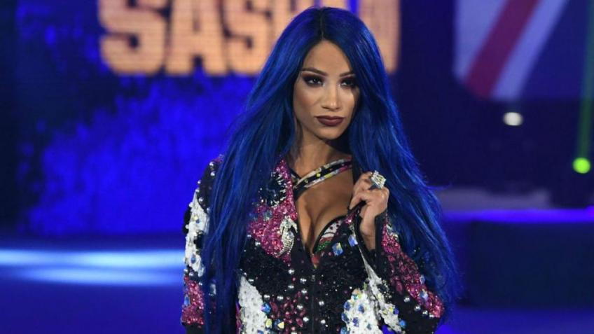 Sasha Banks sta registrando un album rap?