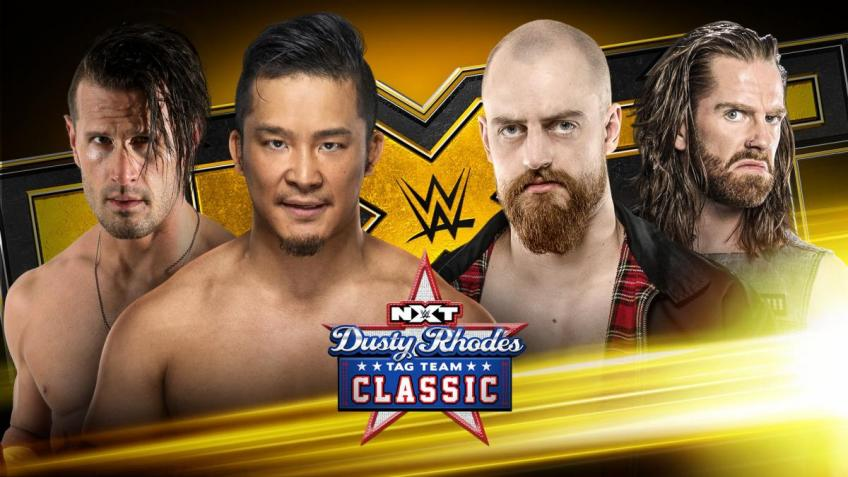 WWE NXT report - 15/01/2020 - parte I - Dusty Classic round 3