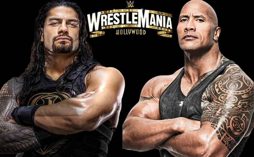 WWE, rispunta Roman Reigns vs The Rock: ecco la possibile data del match