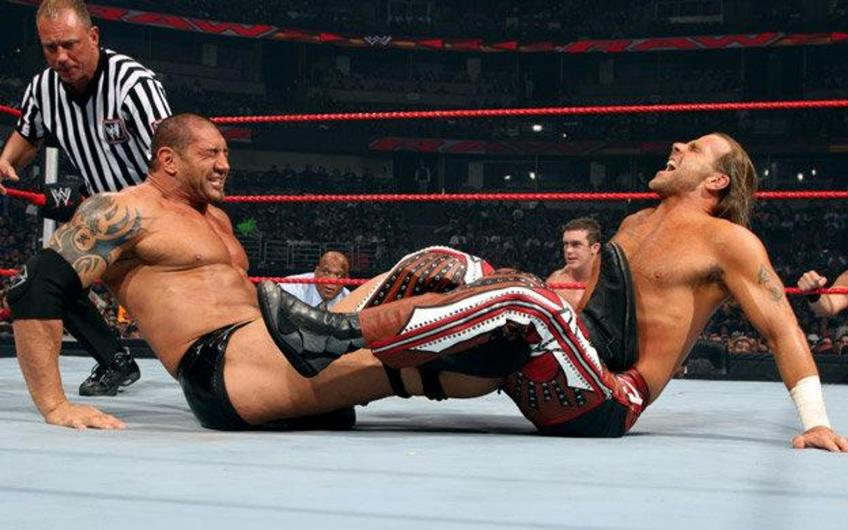 WWE Uncut Gems #4 - Batista vs Shawn Michaels, Lumberjack Match: Raw, 13 ottobre 2008