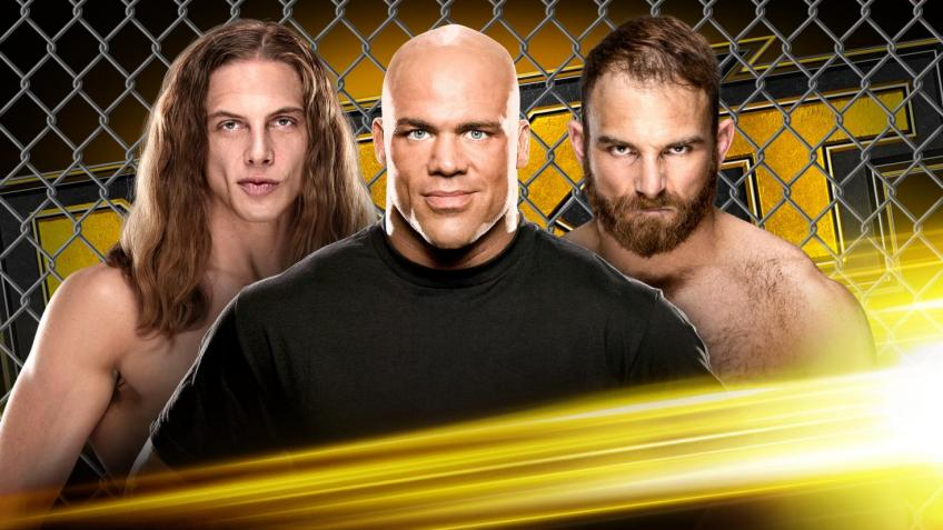 WWE NXT report - 27/05/2020 - parte III - first ever Fight Pit