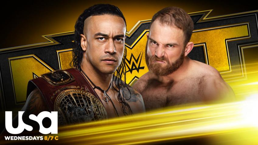 WWE NXT report - 16/09/2020 - parte III - First defense