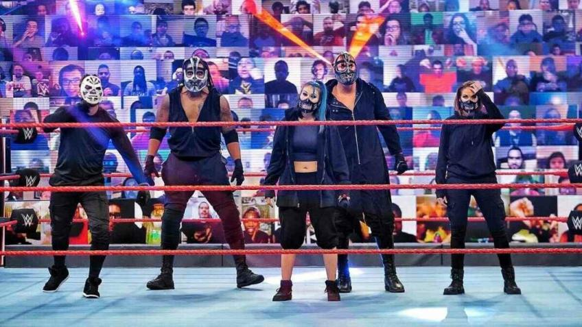 Clamoroso in WWE: l'intera Retribution messa in quarantena dalla compagnia