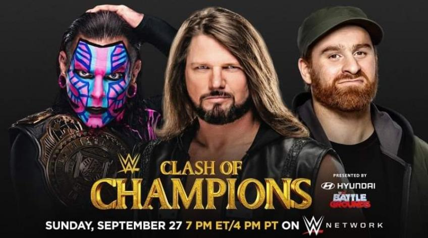 WWE, incredibile a Clash of Champions:  ecco l'Intercontinental Champion *SPOILER*