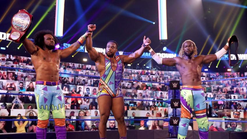 WWE SmackDown 16/10/2020 report (2/3) - Goodbye New Day