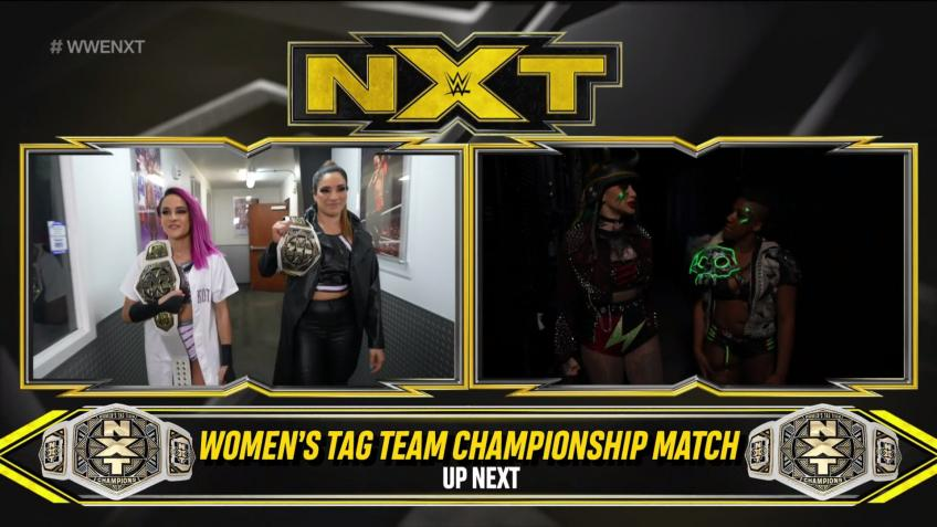 WWE NXT report - 10/03/2020 - parte II - Be the first