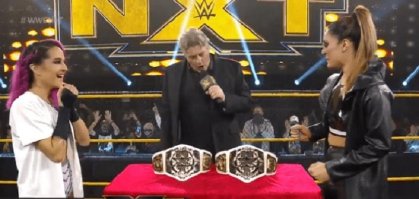 WWE NXT report - 10/03/2021 - parte I - Make a history