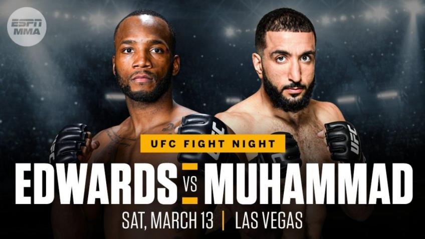 Preview UFC Fight Night: Edwards vs Muhammad