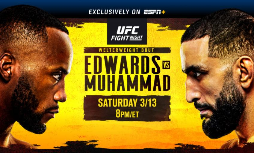 Analisi dell'evento UFC Fight Night: Edwards vs Muhammad