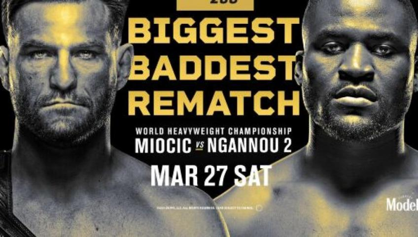 Analisi del PPV UFC 260: Miocic vs Ngannou