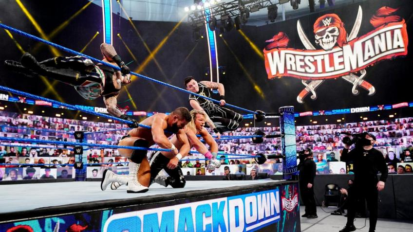 WWE SmackDown 09/04/2021 report (1/3) - Tag Team Titles on the line