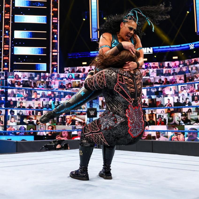 WWE SmackDown 23/04/2021 report (2/3) - Ditate africane