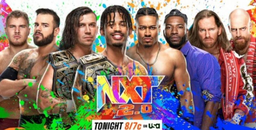 WWE NXT report - 05/10/2021 - parte III - fatal 4 way tag team elimination match