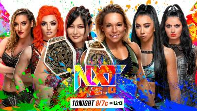 WWE NXT report - 19/10/2021 - parte II - Spin the wheel make a deal