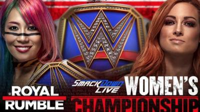 Annunciato Asuka vs Becky Lynch alla Royal Rumble 2019