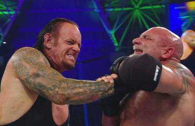 WWE Super ShowDown: tensione nel backstage tra Goldberg e Undertaker