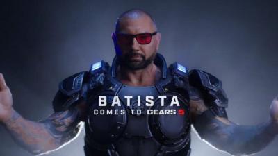 Dalla WWE ai videogames: Batista protagonista del nuovo Gears of War