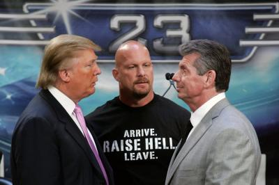 Show Stopper - WWE WrestleMania 23: Billionaires and hairs