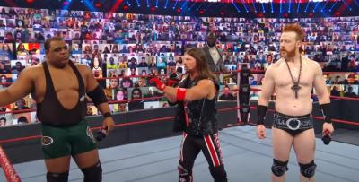 WWE RAW 02/11/2020 report (2/3) - Leader in crisi
