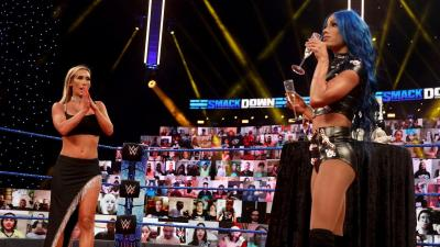 WWE SmackDown 18/12/2020 report (2/3) - Champagne party