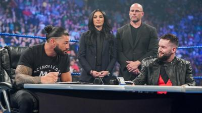 WWE SmackDown 30/07/2021 report (2/3) - Contract signing