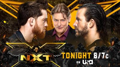 WWE NXT report - 10/08/2021 - parte II - Last chapter of Cole vs O'Reilly saga
