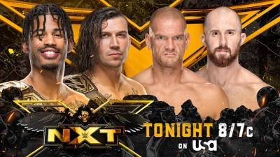 WWE NXT report - 07/09/2021 - parte III - NXT Tag Titles match